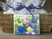 Iris Garden Whisper Notecards