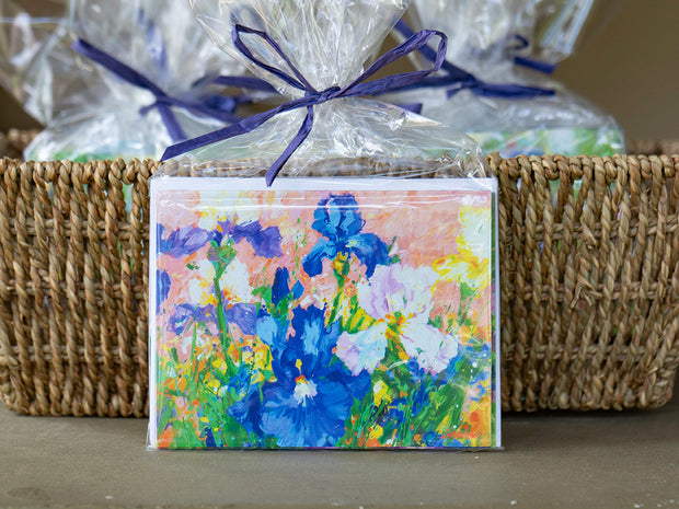 Iris Wind Song Notecards