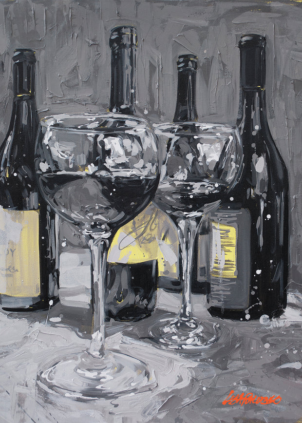 No Wineing Allowed - mini canvas giclee