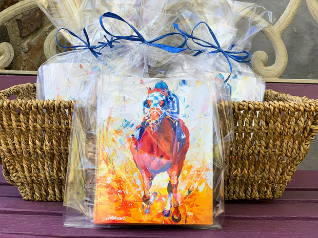 Secretariat: A horse of a Different Color - Notecards