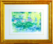 Weeping Willow - Framed Original Watercolor