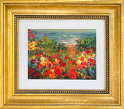 Poppy Beach  - mini canvas giclee