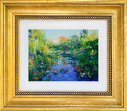 The Japanese Bridge - mini canvas giclee