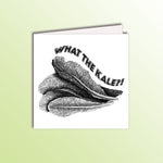 Load image into Gallery viewer, funny what the kale birthday card