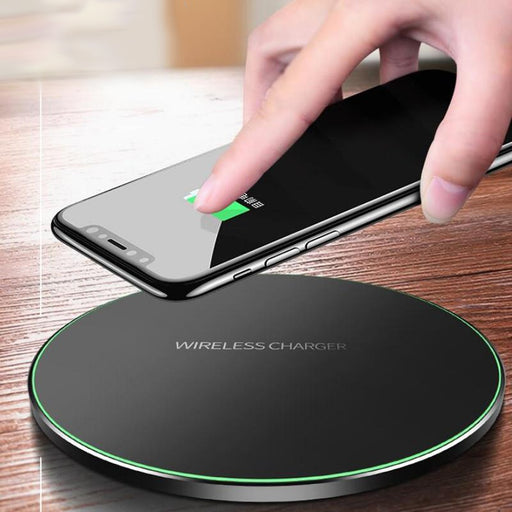 10W Qi Wireless Charger for iPhone X/8 Visible Fast Wireless Charging pad for Samsung S9/S9+ S8 Note 9 9+ 8 Xiaomi Huawei