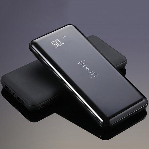 Power Bank 20000Mah Qi Wireless Charger Fast Charge Power Bank USB for iPhone For Samsung S8 5V/2.1A Portable