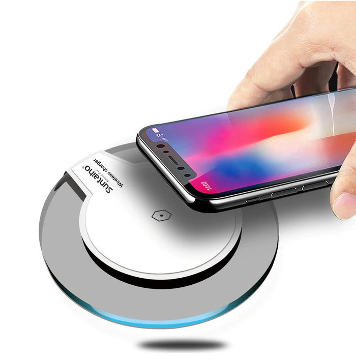 Qi Universal Wireless Charger Charging Dock for iPhone XS MAX XR and Samsung Galaxy S9 S8 Plus