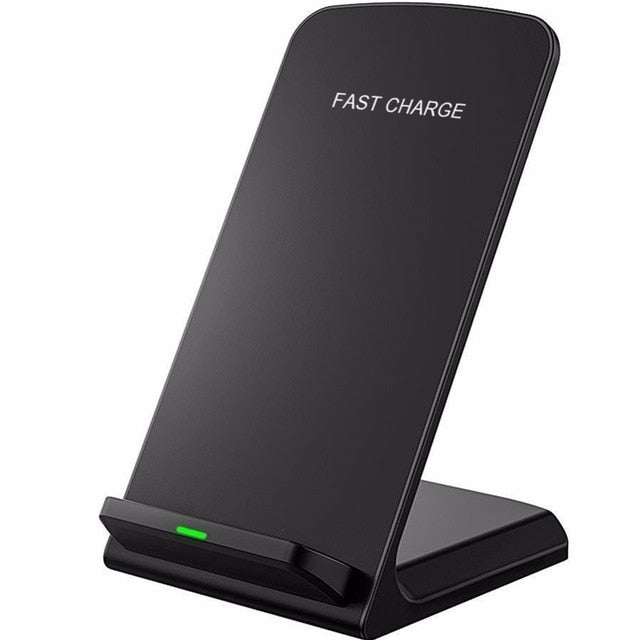 10W 9V Quick Wireless Charger for iPhone X 8 Qi Wireless Charger Fast Wireless Charging Stand for Samsung S8 S7 S6 Edge Note 8