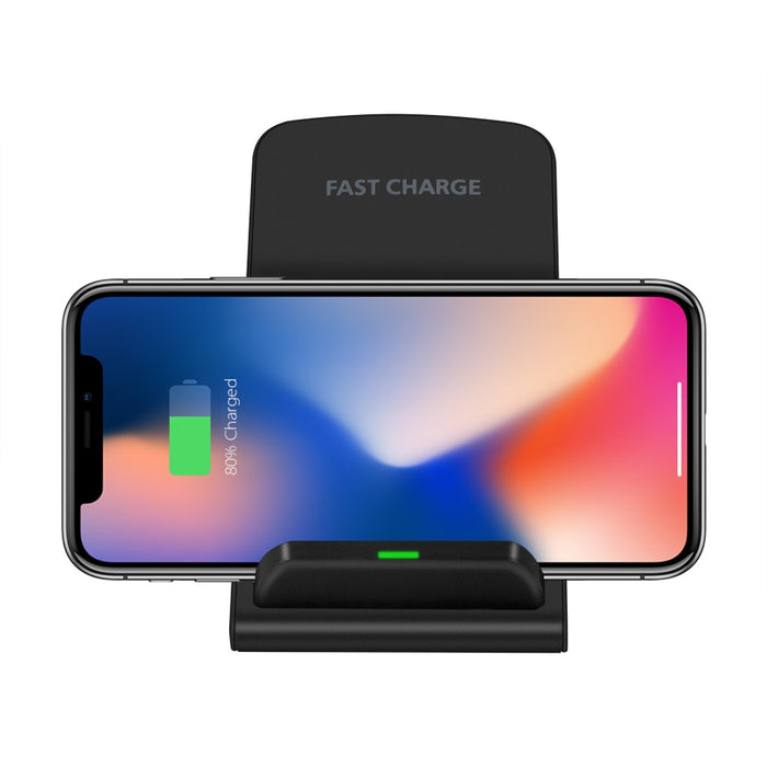 Qi Standard Wireless Charger  Quick Charger Stand Dock  foriPhone XS Max XR  8 X Samsung S9 S8 S7