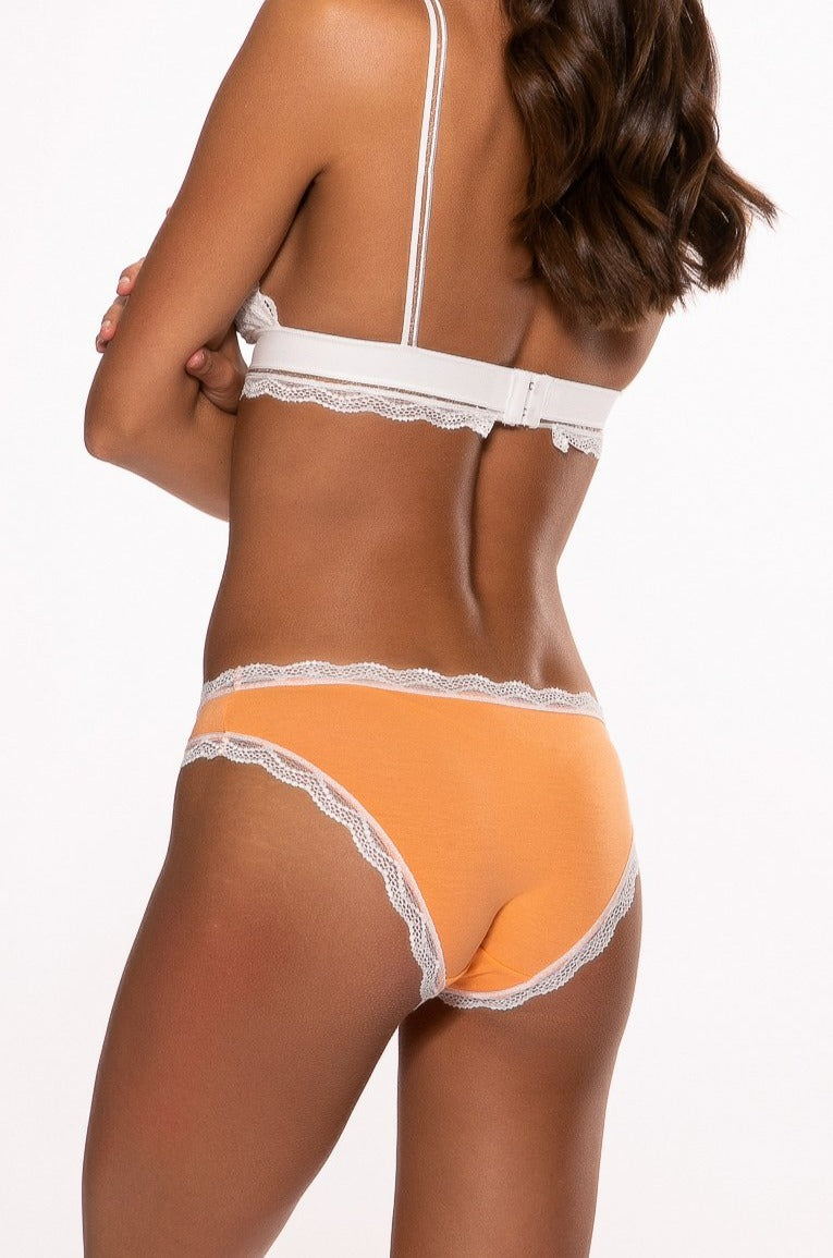 Beautiful Embroidered Peach Knicker