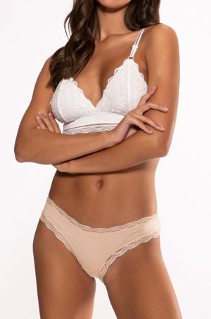 Warm Nude Plain Essential Knicker