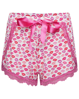 Kisses Print Short