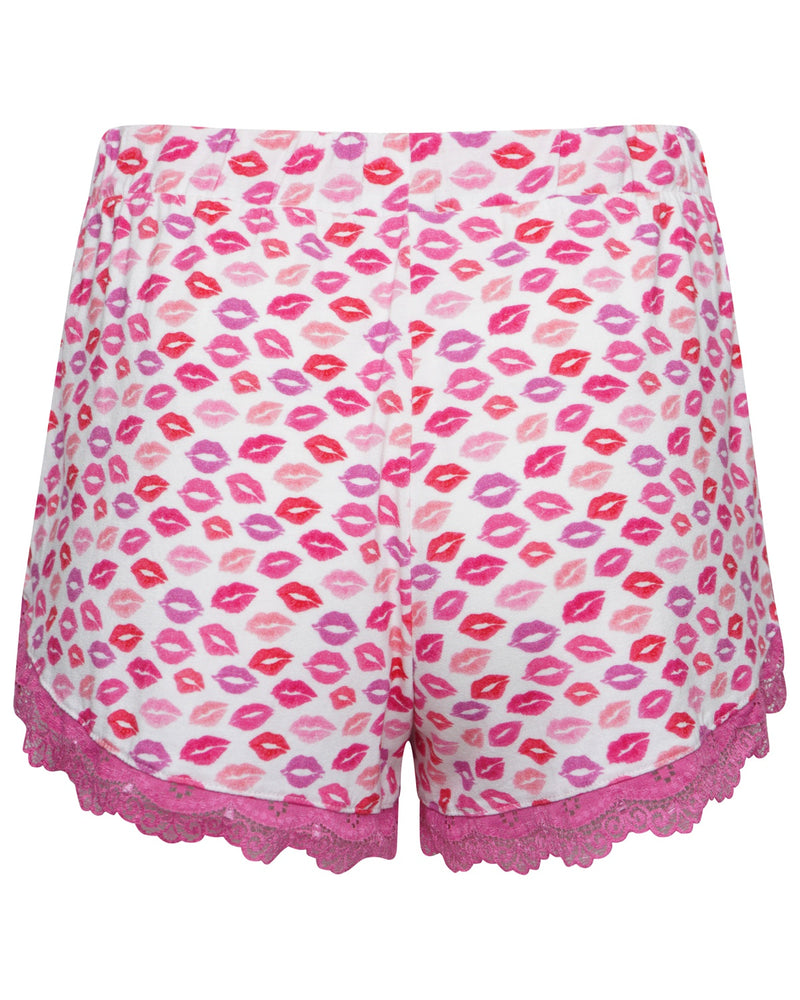 Kisses Print Pyjama Short