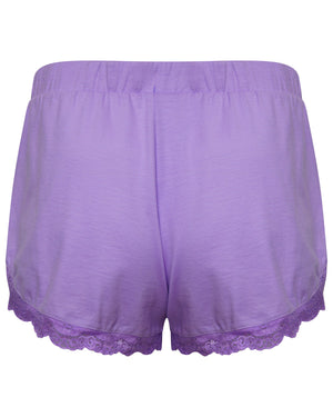 Neon Purple Short