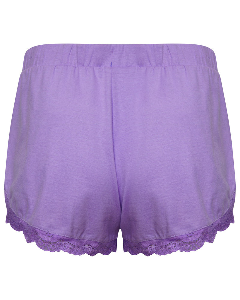 Neon Purple Pyjama Short