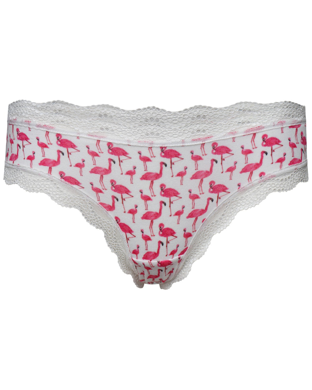 Pink Flamingo Print Original Knicker