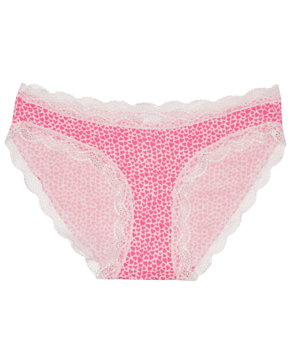 Baby Pink Hearts Print Knicker