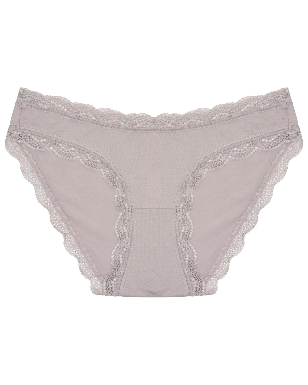 Light Grey Plain Essential Knicker