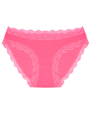 Neon Rose Pink Plain Original Knicker