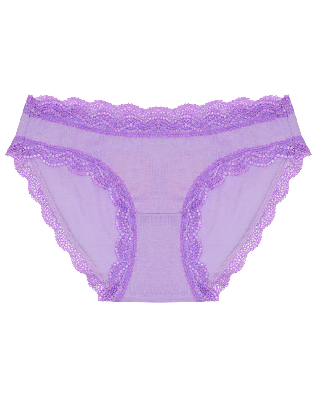 Neon Purple Plain Original Knicker