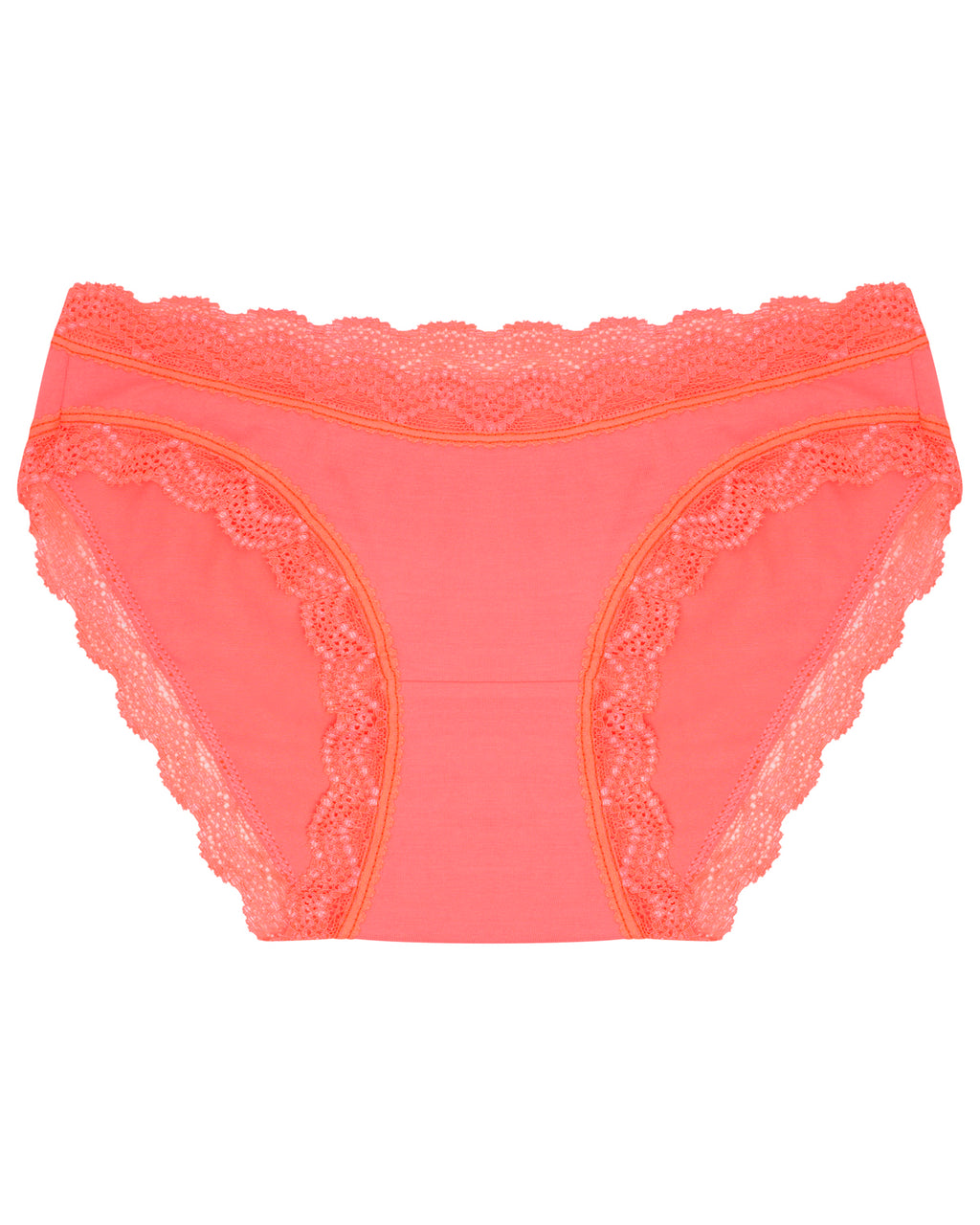 Neon Orange Plain Original Knicker