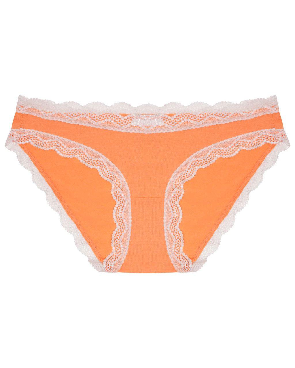 Bright Peach Plain Original Knicker