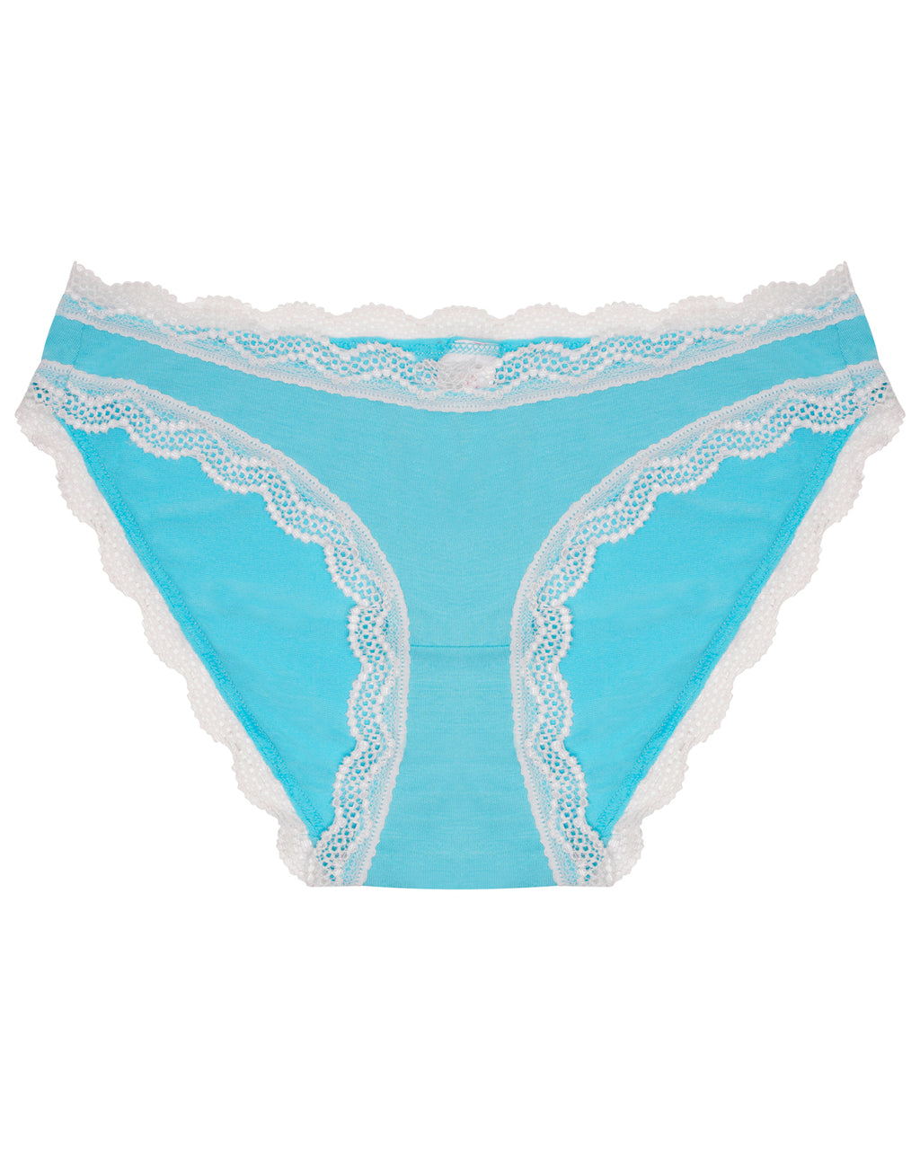 Bright Blue Plain Original Knicker