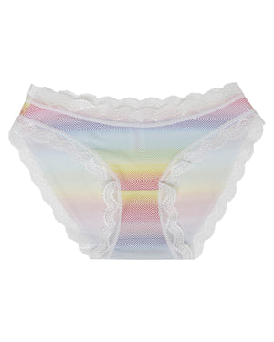 Rainbow Dot Print Knicker