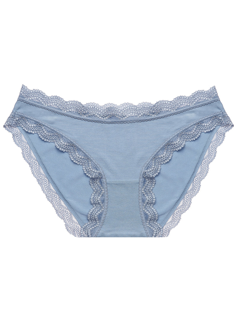 Light Denim Plain Essential Knicker