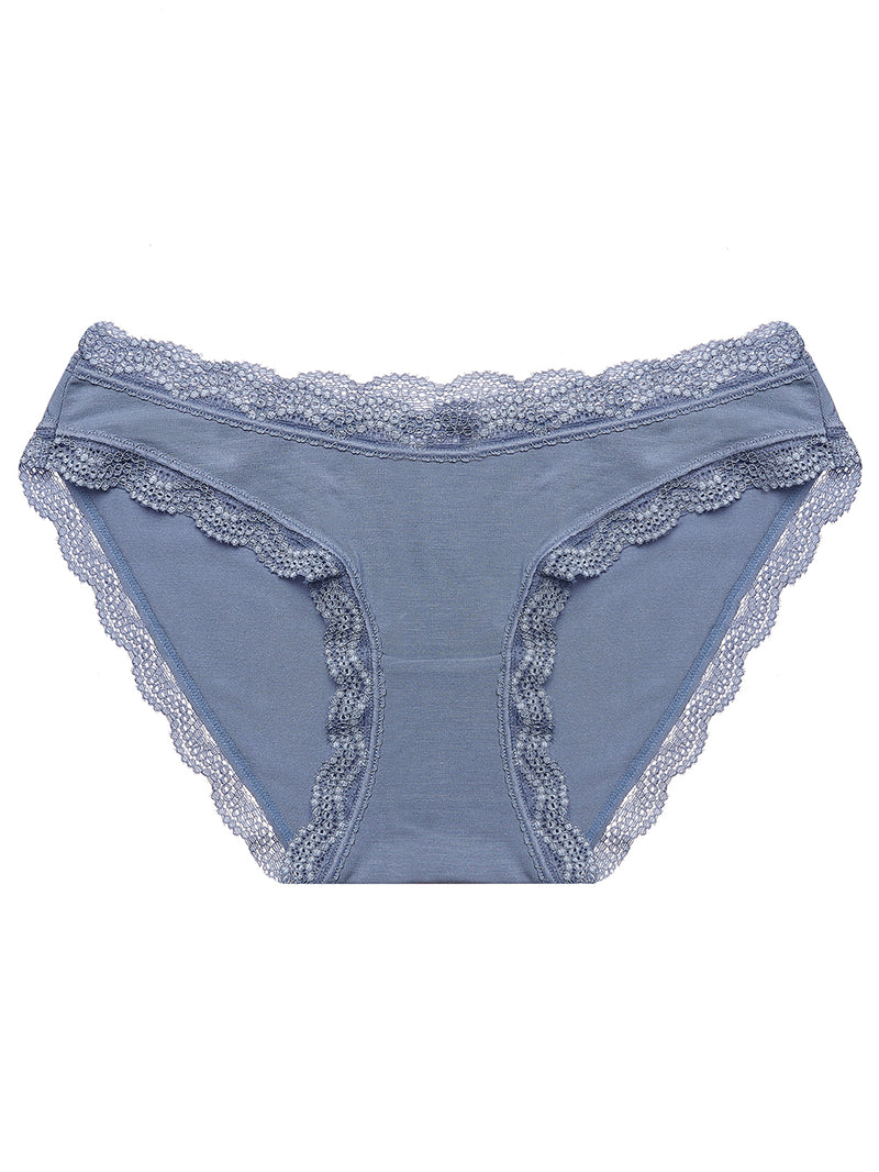 Navy Plain Essential Knicker