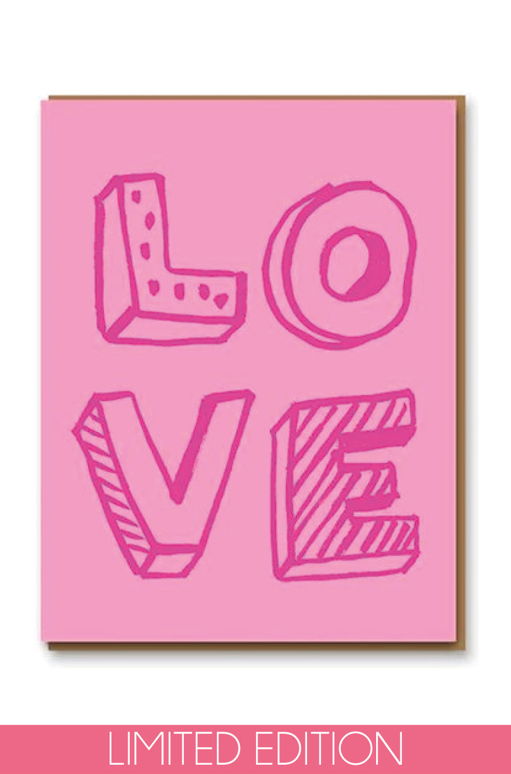 LOVE Valentines Card