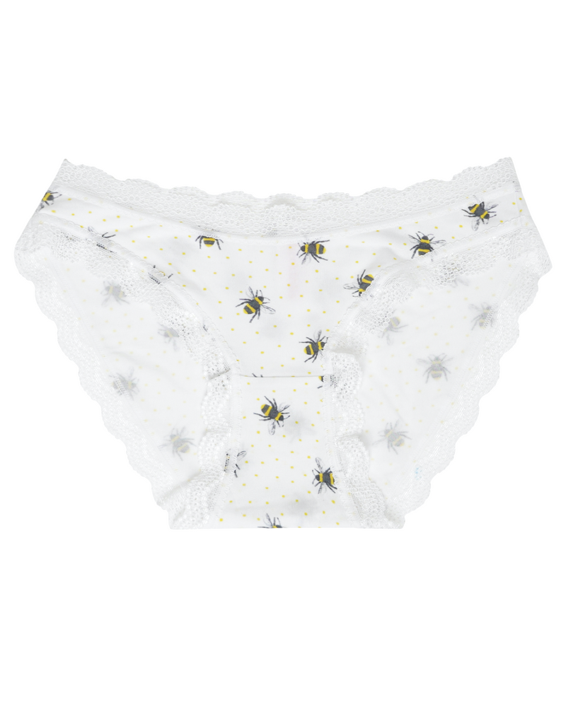 Honey Bee Print Knicker