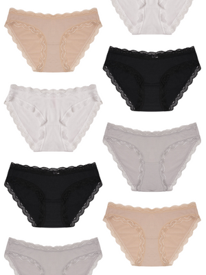 Basic 8 Knicker Pack