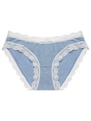 Light Denim Contrast Essential Knicker