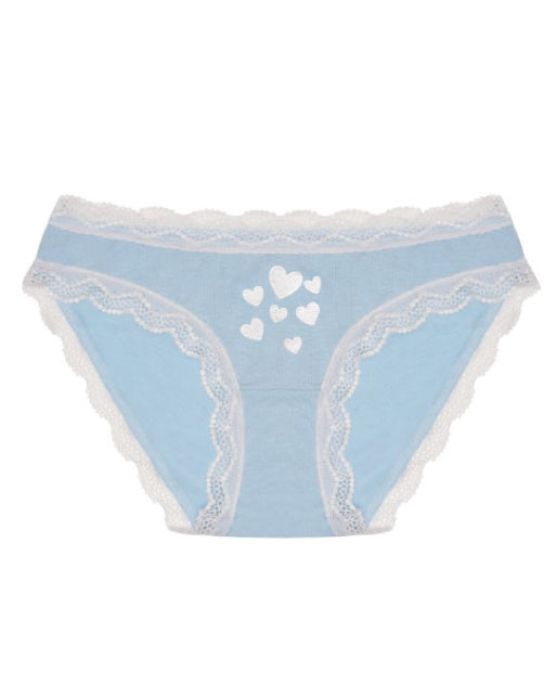 Baby Blue Hearts Knicker