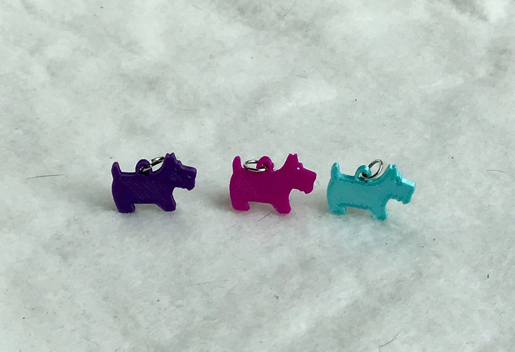 Crochet Stitch Markers-Dogs - Steep Hill Farm