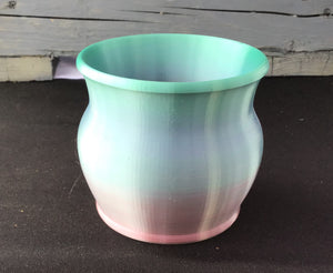 Multicolor Notion Cup- Pink/Green - Steep Hill Farm