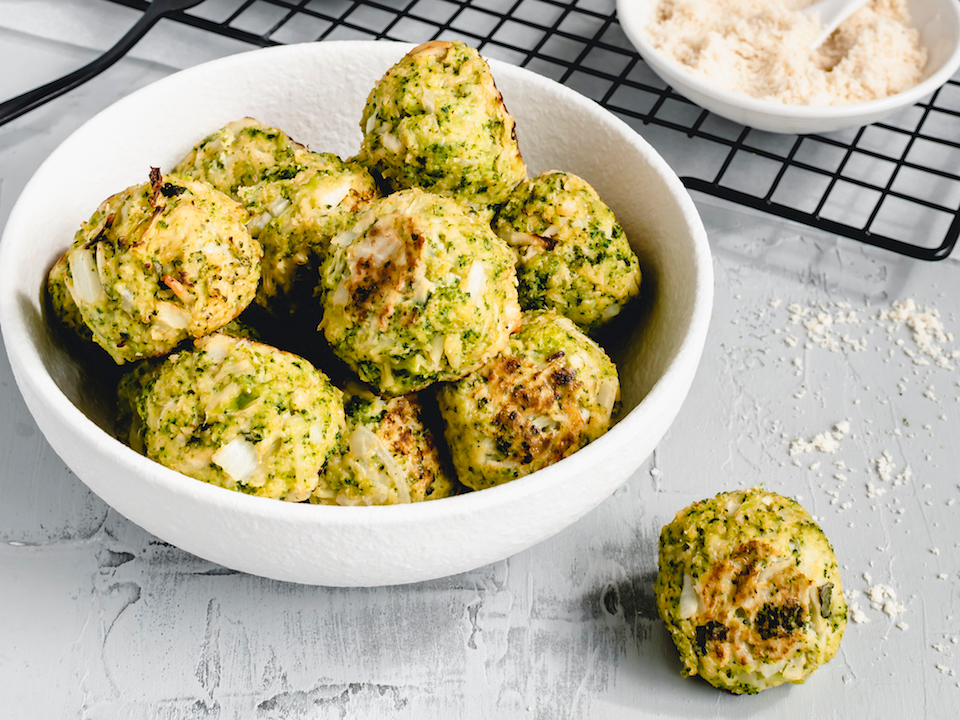 Broccoli and Cheese Bites | FREE RECIPE