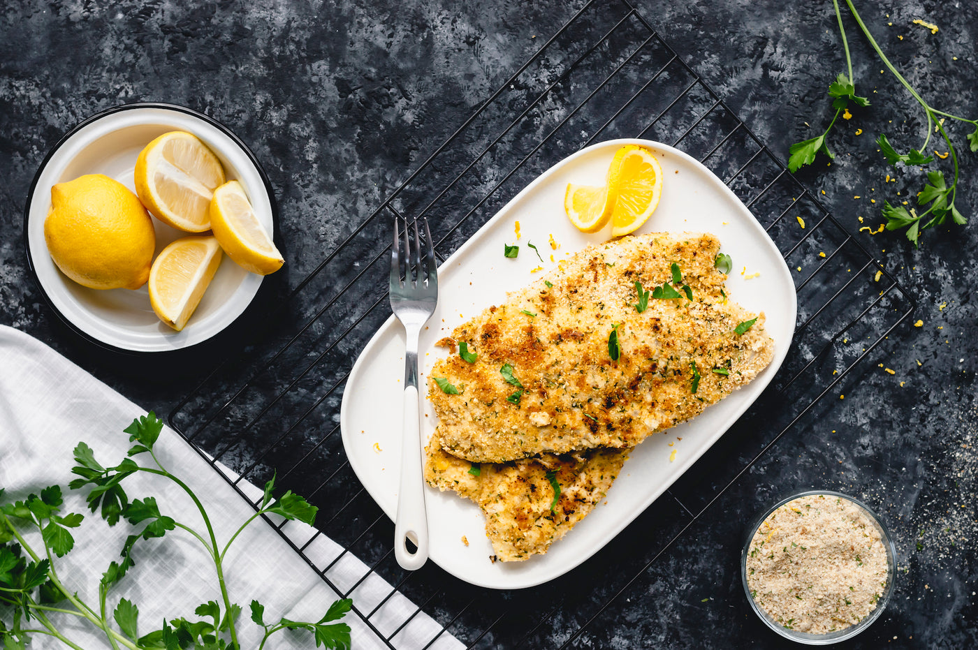 Friday Fakeaway Recipe: Healthy Fish & Chips
