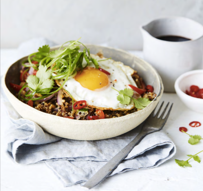 Best Immune Supporting Foods plus Free Recipe: Ginger Quinoa Nasi Goreng