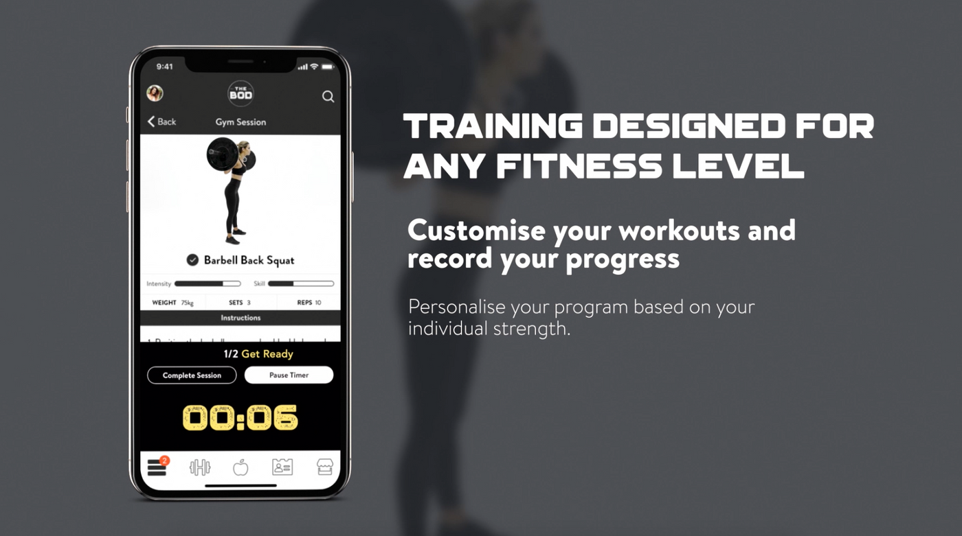 THE BOD APP - COMING 2019
