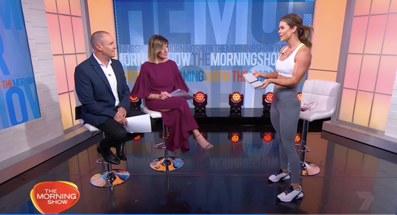 5 Minute Workout: Live On The Morning Show