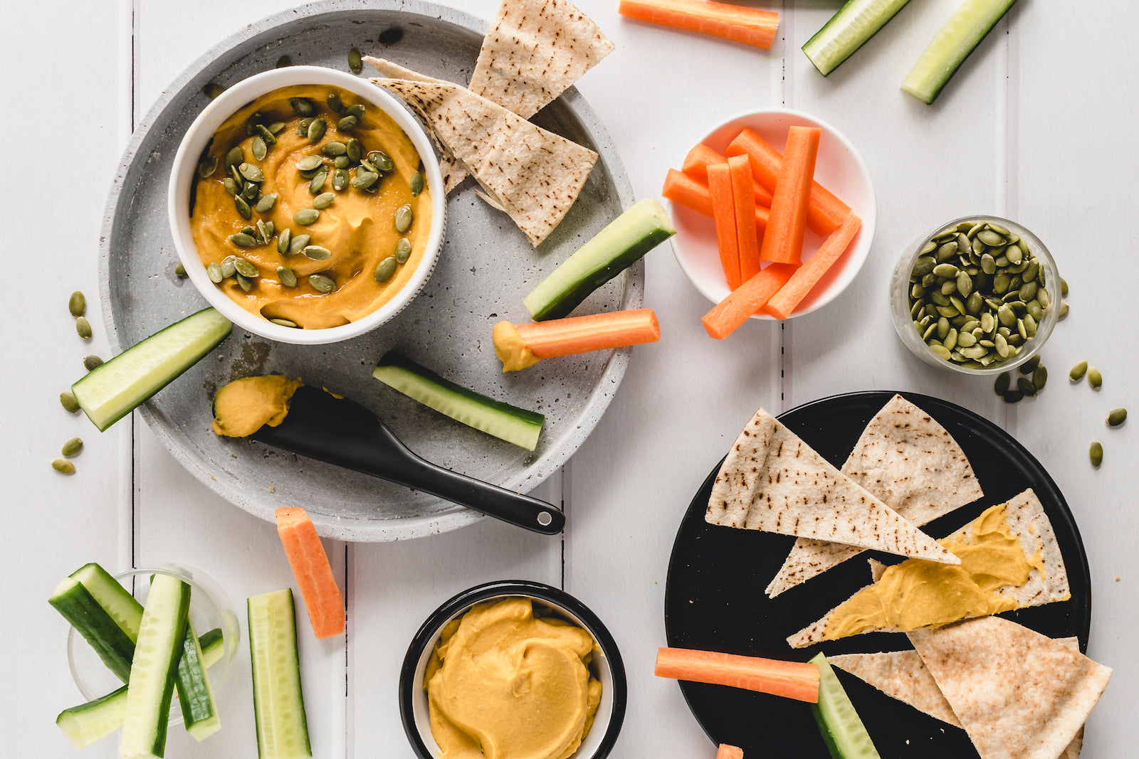 Pumpkin Chickpea Hummus | FREE RECIPE