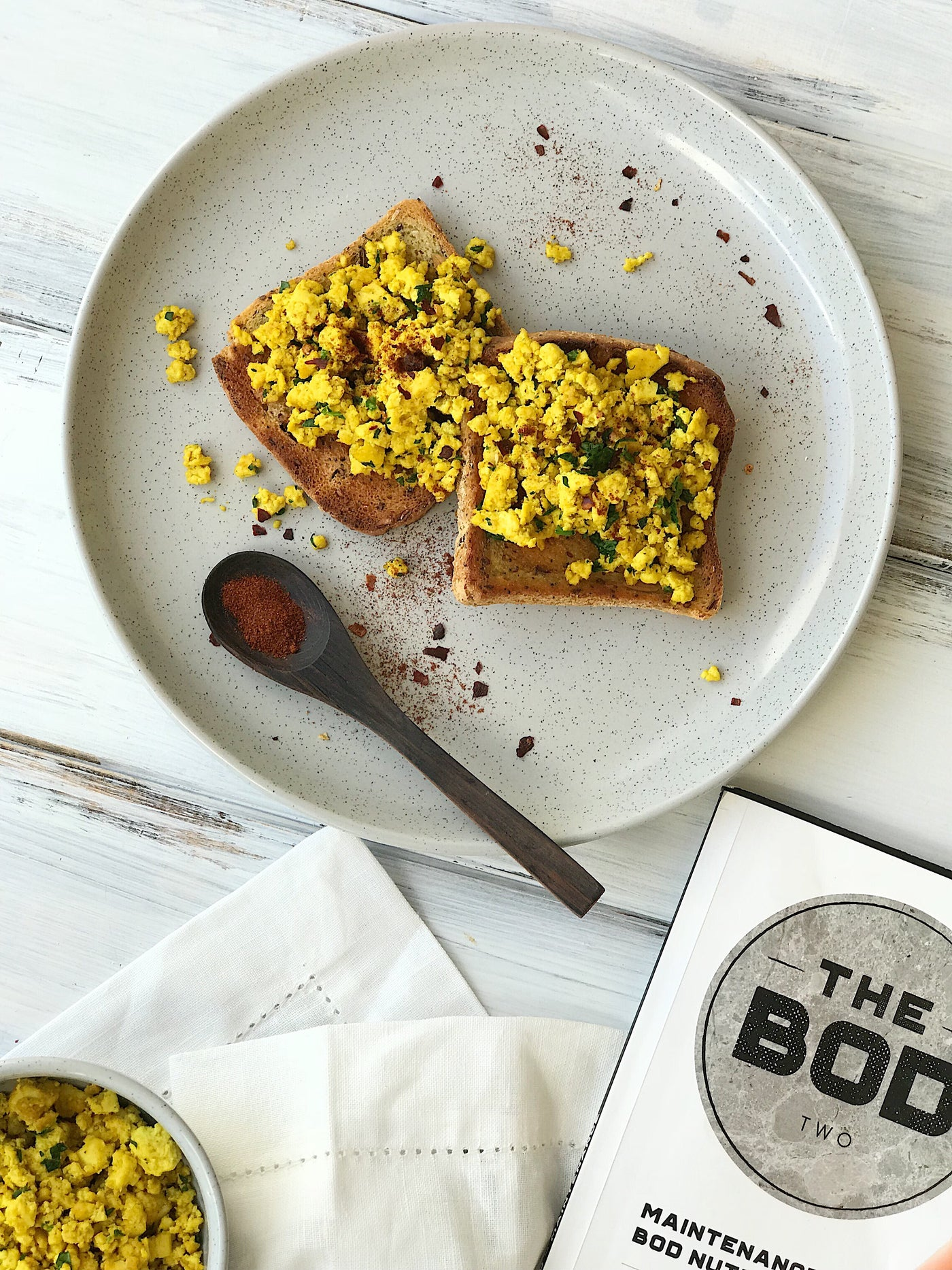 THE BOD Vegan Scrambled Tofu Recipe