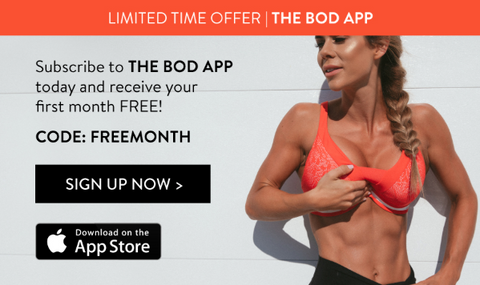 THE BOD App FREEMONTH offer
