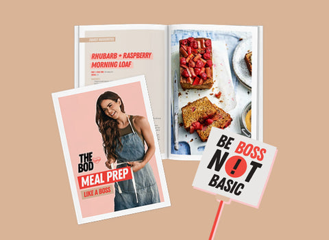 THE BOD Meal Prep Like A Boss FREE Guide