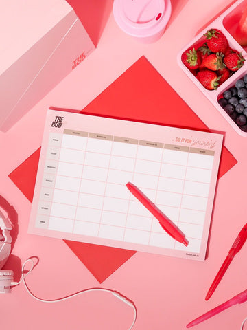 THE BOD Meal Planner