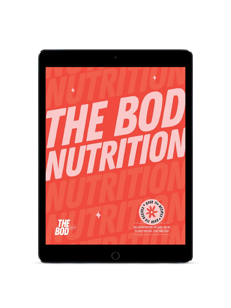 THE BOD Level 2 Nutrition & Training Bundle | Digital Edition
