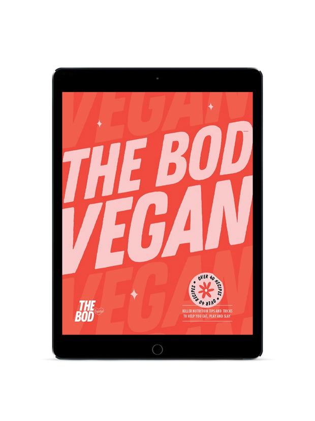 THE BOD Vegan Nutrition & Training Bundle - Level 2 | Digital Edition