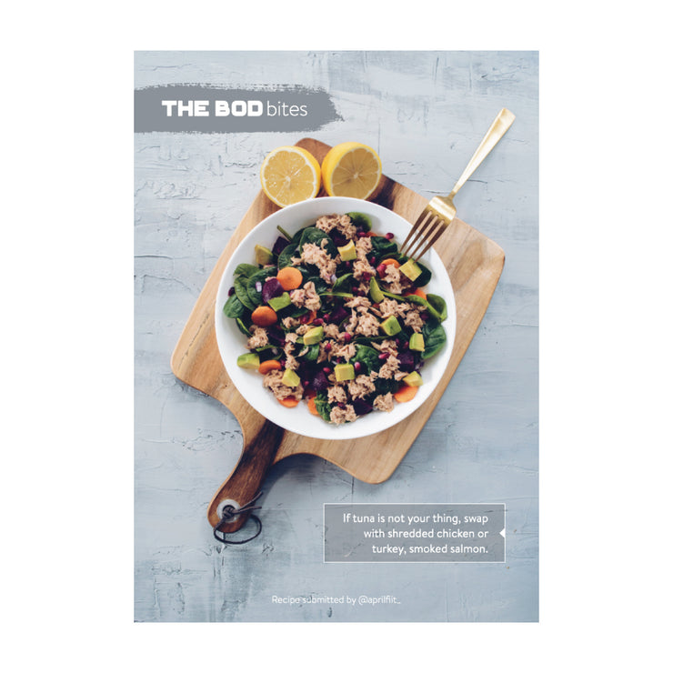 THE BOD Bites Recipe Book